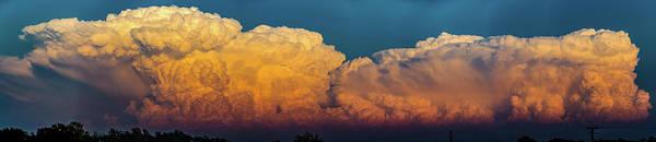Photograph - Nebraska Sunset Thunderheads 065 by NebraskaSC