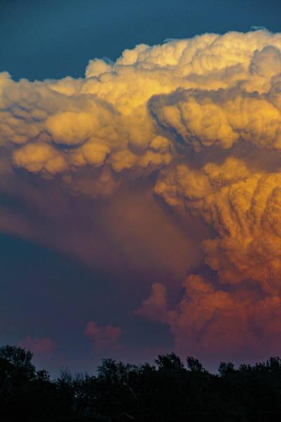 Photograph - Nebraska Sunset Thunderheads 066 by NebraskaSC
