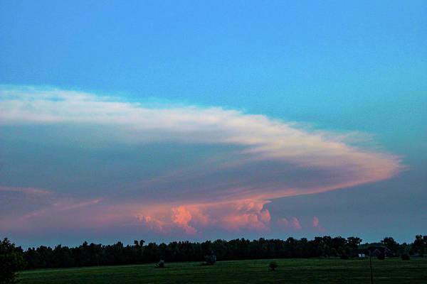 Photograph - Nebraska Sunset Thunderheads 067 by NebraskaSC
