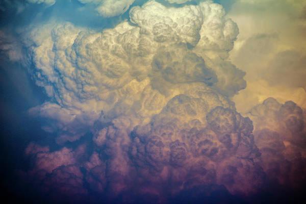 Photograph - Nebraska Sunset Thunderheads 069 by NebraskaSC