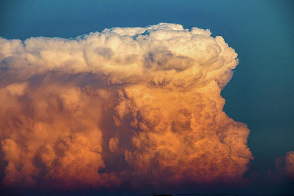 Photograph - Nebraska Sunset Thunderheads 071 by NebraskaSC