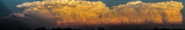 Photograph - Nebraska Sunset Thunderheads 076 by NebraskaSC