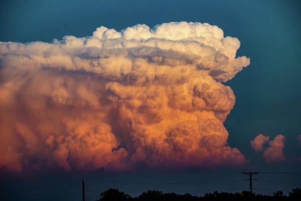 Photograph - Nebraska Sunset Thunderheads 079 by NebraskaSC