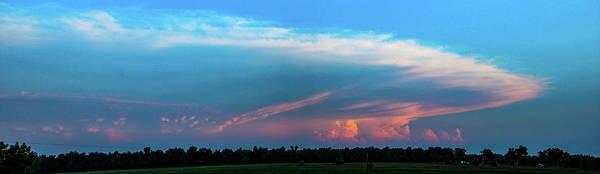 Photograph - Nebraska Sunset Thunderheads 080 by NebraskaSC