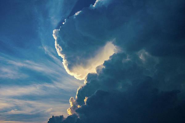 Photograph - Nebraska Sunset Thunderheads 084 by NebraskaSC