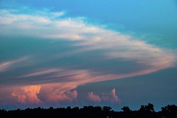 Photograph - Nebraska Sunset Thunderheads 087 by NebraskaSC