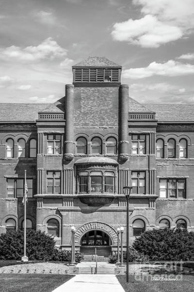 Photograph - Nebraska Wesleyan Old Main Vertical by University Icons