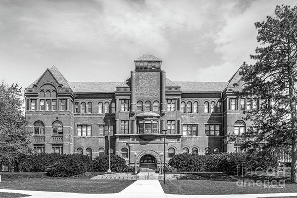 Photograph - Nebraska Wesleyan University Old Main by University Icons