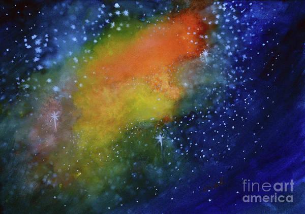 Painting - Nebula Creation by Allison Ashton