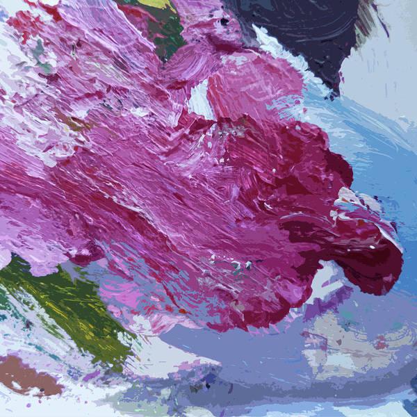Conceptual Painting - Nebula by David Lloyd Glover