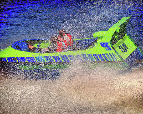 Photograph - Need For Speed On Lake Broadway by Bill Swartwout Photography