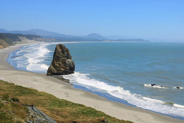 Photograph - Needle Rock 1, Cape Blanco, Oregon by Dawn Richards