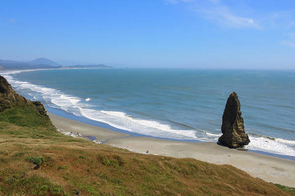 Photograph - Needle Rock 2, Cape Blanco, Oregon by Dawn Richards