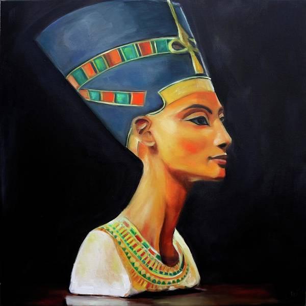 Queen Nefertiti Paintings | Pixels