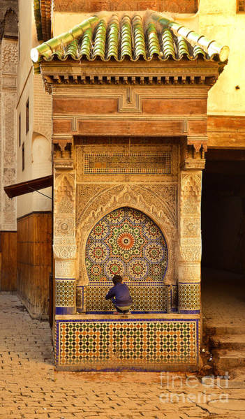 Wall Art - Photograph - Nejjarine Fountain In Fez by Yavor Mihaylov
