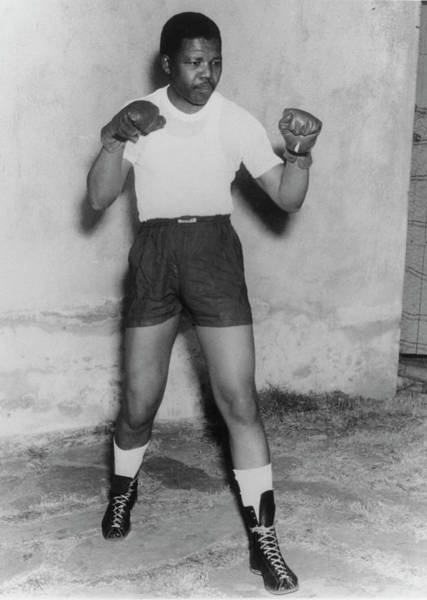 Boxing Photograph - Nelson Mandela by Keystone