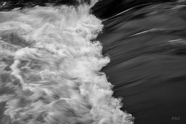 Photograph - Nemasket River I Bw by David Gordon