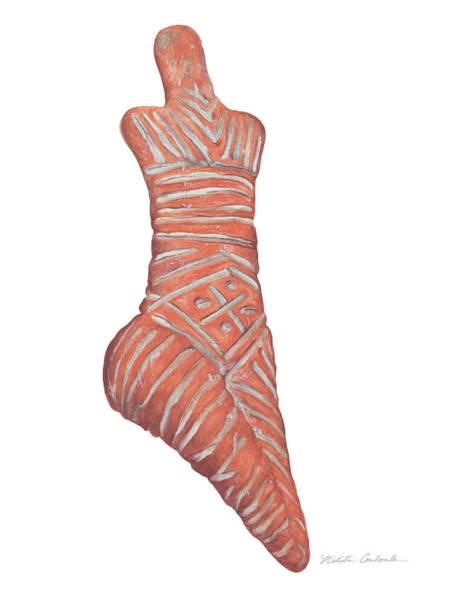 Neolithic Venus Mother Goddess Art Print