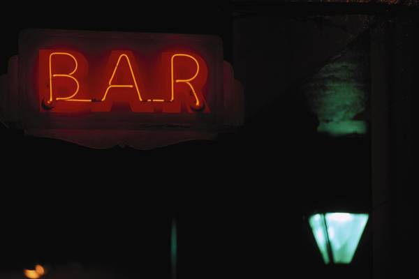 Louisiana Photograph - Neon Bar Sign, French Quarter, La by John Coletti