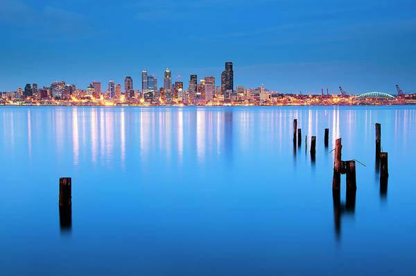 Photograph - Neon City by Aaron Eakin