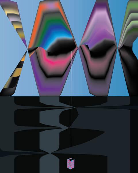 Digital Art - Neon Fish by Kevin McLaughlin