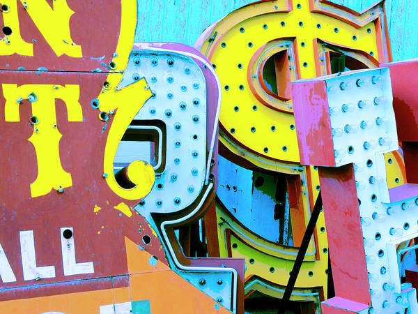 Photograph - Neon Jungle 08 by Dominic Piperata