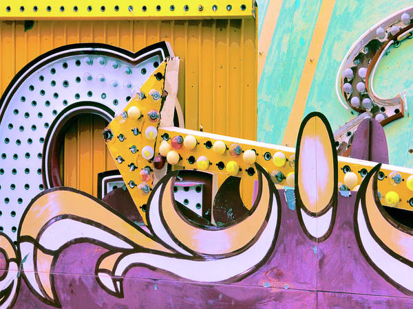 Photograph - Neon Jungle 4 by Dominic Piperata