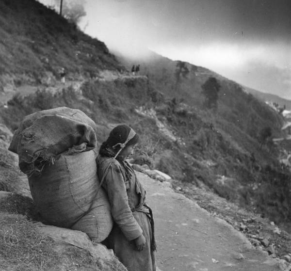Photograph - Nepalese Rest by Bert Hardy
