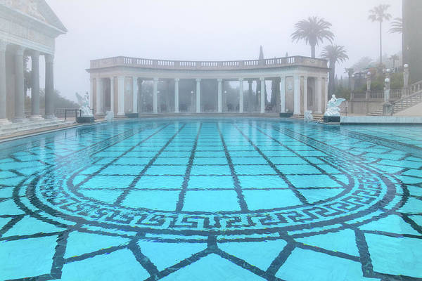 Photograph - Neptune Pool At Hearst Castle by Carolyn Derstine