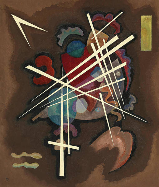 Wall Art - Painting - Netting, 1927 by Wassily Kandinsky