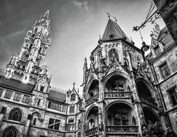 Photograph - Neues Rathaus by Borja Robles