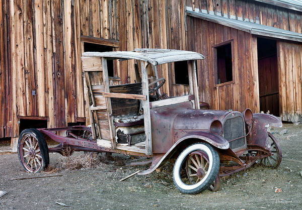Wall Art - Photograph - Nevada Ghost Town by Leland D Howard