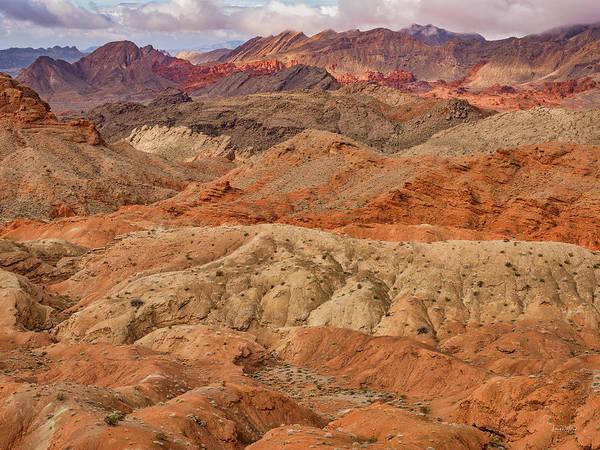 Photograph - Nevada Layers by Leland D Howard
