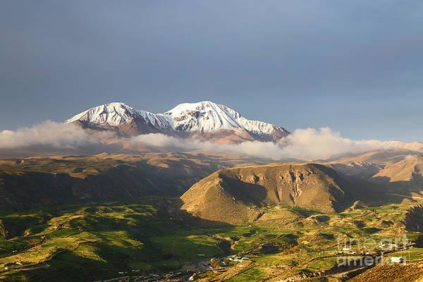 Photograph - Nevados De Putre Volcano Chile by James Brunker