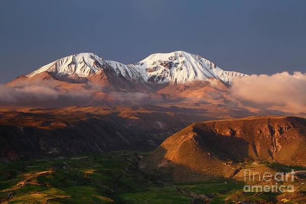 Photograph - Nevados De Putre Volcanoes Chile by James Brunker