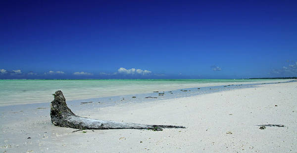 Collin Photograph - Never Ending White Sand Beach In by © Frédéric Collin
