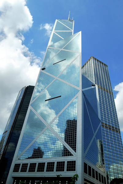 Financial Centre Photograph - New Bank Of China Hong Kong by Samxmeg