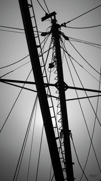 Photograph - New Bedford Waterfront Xxx Bw by David Gordon