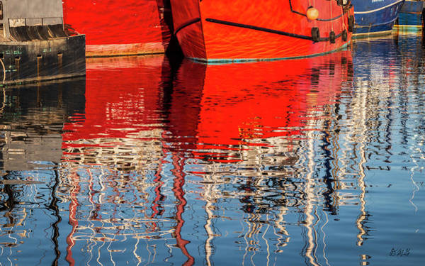 Wall Art - Photograph - New Bedford Waterfront Xxxi Color by David Gordon