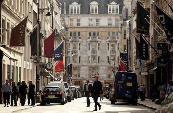 Topics Photograph - New Bond Street Has Become Europes Most by Oli Scarff