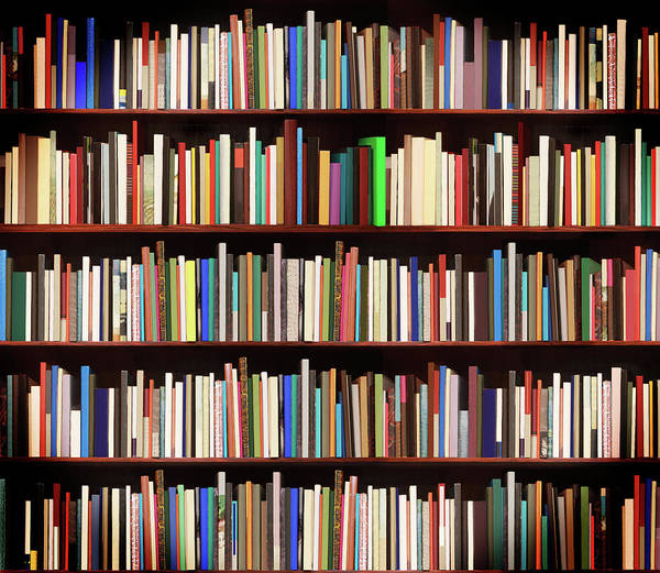 Wall Art - Photograph - New Books In A Bookstore by Luoman
