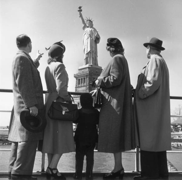 Lion Statue Photograph - New Citizens by Three Lions