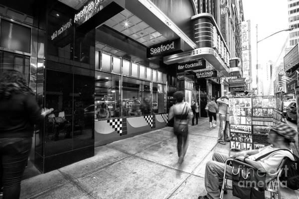 Photograph - New City York Motion by John Rizzuto