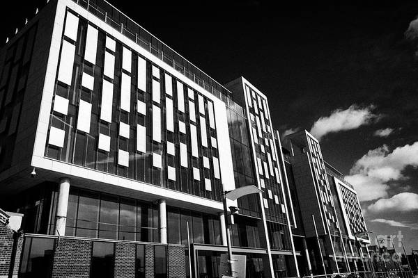 Wall Art - Photograph - new commercial office space building the reflector on 8 hanover quay Dublin republic of Ireland by Joe Fox