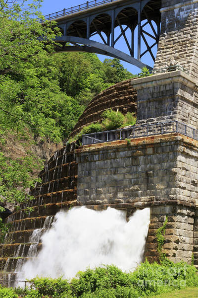 Wall Art - Photograph - New Croton Dam In Croton On Hudson New York by Louise Heusinkveld
