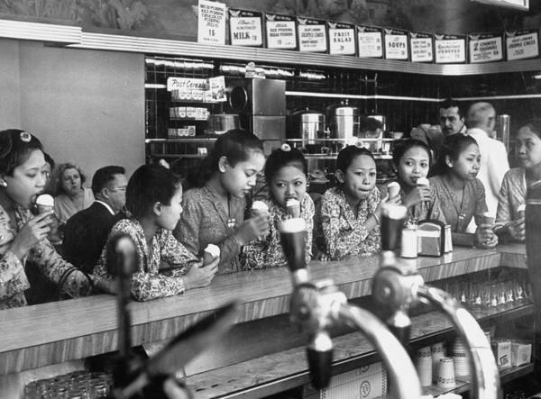 Photograph - New Delight For The Balinese Dancing Gir by Gordon Parks