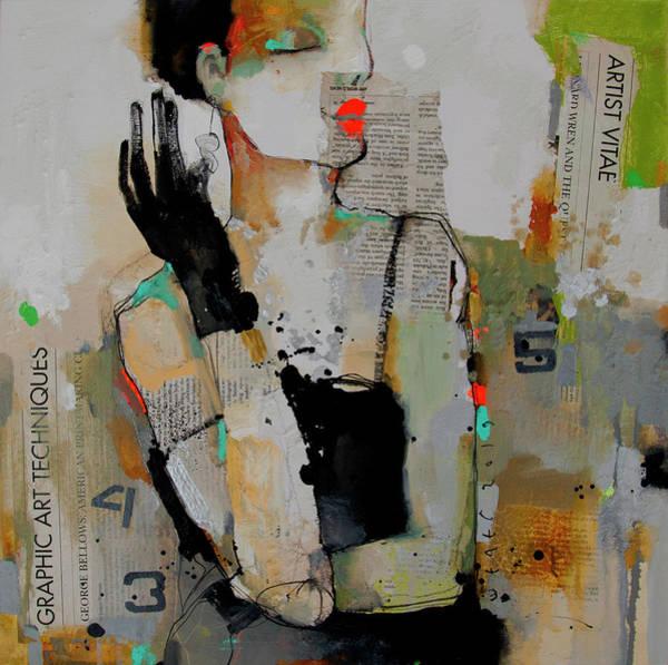 Wall Art - Painting - New Earrings by Viktor Sheleg
