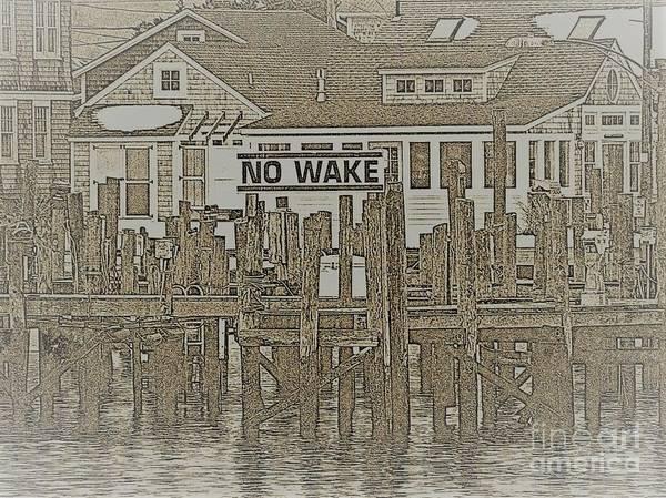 Wall Art - Mixed Media - New England Village by Rick Maxwell