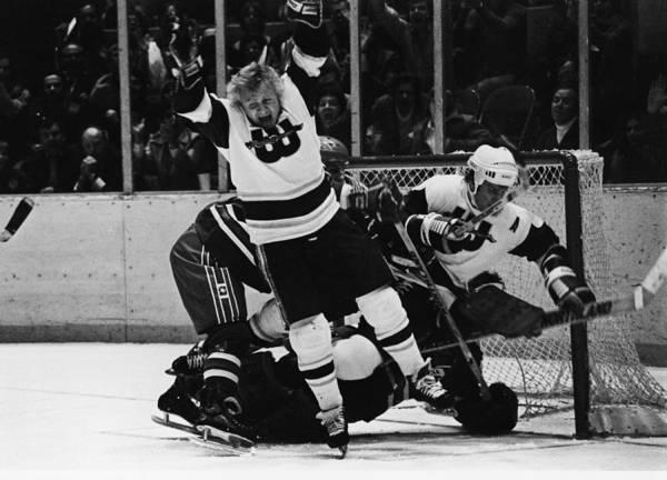 Sport Photograph - New England Whalers Vs. Winnipeg Jets by B Bennett