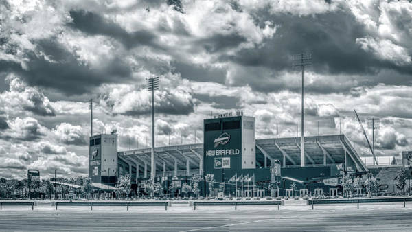 Photograph - New Era Stadium by Guy Whiteley